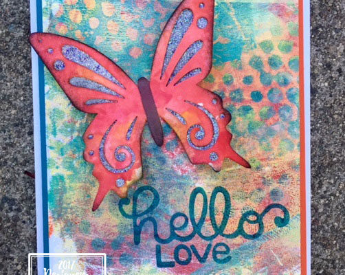 Fun Stampers Journey Designer's Showcase Blog Hop-Mixed Media