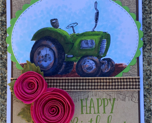 Rubbernecker Thursday- Birthday Tractor