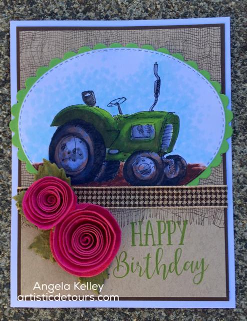 Rubbernecker Thursday- Birthday Tractor